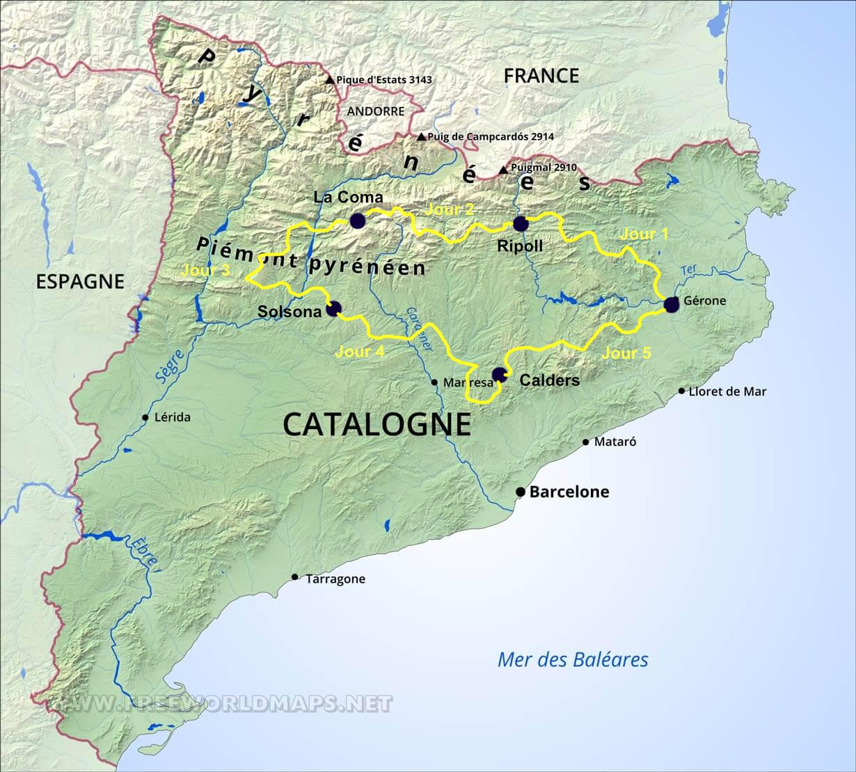 Rando Enduro Catalogne La Catalane